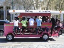 Ταξί ποδηλάτων της Μαδρίτης Στοκ Εικόνες