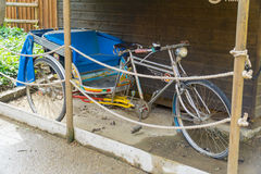 Ταξί ποδηλάτων Στοκ Εικόνες