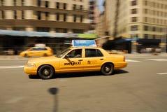 Ταξί πόλεων της Νέας Υόρκης Στοκ Φωτογραφίες
