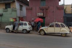 Ταξί σε Antananarivo, Μαδαγασκάρη Στοκ Εικόνες