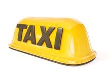ταξί σημαδιών διανυσματική απεικόνιση