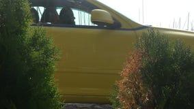 Ταξί στη μαρίνα απόθεμα βίντεο