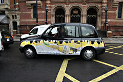 Ταξί στο Λονδίνο 4 Στοκ Εικόνες