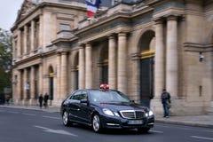 Ταξί στο Παρίσι, Γαλλία Στοκ εικόνα με δικαίωμα ελεύθερης χρήσης