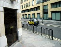 ταξί του Λονδίνου Στοκ εικόνες με δικαίωμα ελεύθερης χρήσης
