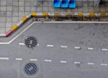 ταξί χώρων στάθμευσης μερών Στοκ Εικόνα