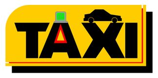 ταξί Στοκ εικόνες με δικαίωμα ελεύθερης χρήσης