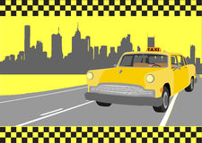 ταξί Στοκ Φωτογραφία