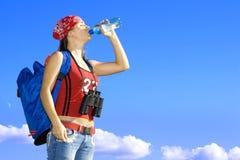 ταξιδιώτης δίψας στοκ φωτογραφία με δικαίωμα ελεύθερης χρήσης