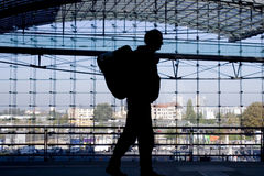 ταξιδιώτης Στοκ εικόνα με δικαίωμα ελεύθερης χρήσης