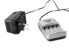 Ταξινομημένος AA φορτιστής μπαταριών Στοκ Φωτογραφία