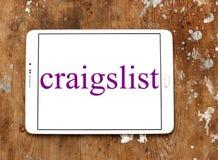 Ταξινομημένο Craigslist λογότυπο ιστοχώρου διαφημίσεων Στοκ εικόνες με δικαίωμα ελεύθερης χρήσης