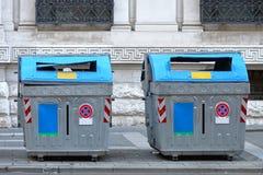 Ταξινομώντας απόβλητα Στοκ Φωτογραφία