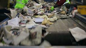 Ταξινόμηση ανακύκλωσης απόθεμα βίντεο
