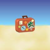 Ταξιδιωτική βαλίτσα Απεικόνιση αποθεμάτων