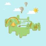 Ταξιδιώτης χαρτών Στοκ Εικόνα