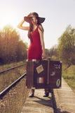 Ταξιδιώτης Στοκ φωτογραφίες με δικαίωμα ελεύθερης χρήσης