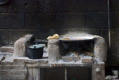ταπεινή κουζίνα Στοκ εικόνα με δικαίωμα ελεύθερης χρήσης
