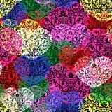 Ταπετσαρία διακοσμήσεων καρδιών Abstrack ελεύθερη απεικόνιση δικαιώματος