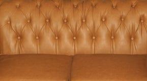 Ταπετσαρία καναπέδων δέρματος Στοκ εικόνα με δικαίωμα ελεύθερης χρήσης