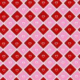 Ταπετσαρία καρδιών διανυσματική απεικόνιση
