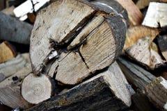 Ταπετσαρία καυσόξυλου Στοκ φωτογραφίες με δικαίωμα ελεύθερης χρήσης