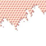 Ταπετσαρία κύβων Στοκ φωτογραφία με δικαίωμα ελεύθερης χρήσης