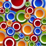 Ταπετσαρία κύκλων χρώματος Στοκ φωτογραφίες με δικαίωμα ελεύθερης χρήσης
