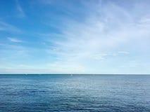 Ταπετσαρία μπλε ουρανού Στοκ Φωτογραφίες