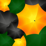 Ταπετσαρία ομπρελών Στοκ εικόνα με δικαίωμα ελεύθερης χρήσης