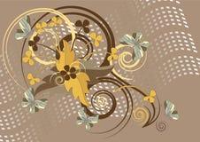 ταπετσαρία πεταλούδων α&n Στοκ φωτογραφία με δικαίωμα ελεύθερης χρήσης