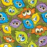 ταπετσαρία πουλιών Απεικόνιση αποθεμάτων