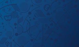 Ταπετσαρία πρωταθλήματος της Ευρώπης Στοκ εικόνες με δικαίωμα ελεύθερης χρήσης