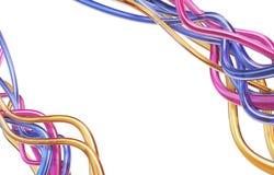 ταπετσαρία σωλήνων γραμμών Στοκ Εικόνα