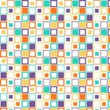 Ταπετσαρία τετραγώνων Στοκ φωτογραφία με δικαίωμα ελεύθερης χρήσης