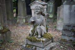 Ταπετσαρία υποβάθρου ταφοπετρών νεκροταφείων Jewisch Στοκ φωτογραφίες με δικαίωμα ελεύθερης χρήσης