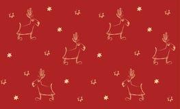 ταπετσαρία Χριστουγέννω&nu Στοκ εικόνα με δικαίωμα ελεύθερης χρήσης