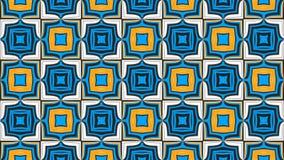 Ταπετσαρία Weirdness 6 του //4k 60fps Kaleidoscopic βρόχος υποβάθρου κεραμιδιών τηλεοπτικός ελεύθερη απεικόνιση δικαιώματος