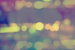 Ταπετσαρίες και υπόβαθρα σύστασης θαμπάδων ουράνιων τόξων bokeh Στοκ Εικόνα