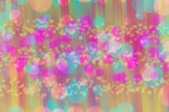 Ταπετσαρίες και υπόβαθρα σύστασης Blure bokeh Στοκ Εικόνες