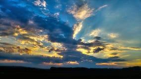 Ταραγμένος ουρανός Στοκ εικόνες με δικαίωμα ελεύθερης χρήσης