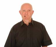 Ταραγμένο φαλακρό άτομο Στοκ φωτογραφίες με δικαίωμα ελεύθερης χρήσης
