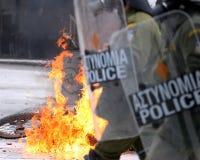 ταραχές Στοκ Φωτογραφίες