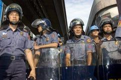 ταραχή αστυνομικών στοκ φωτογραφία με δικαίωμα ελεύθερης χρήσης