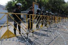 ταραχή διαμαρτυρίας αστυ στοκ φωτογραφίες