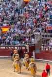 Ταυρομαχία στη Μαδρίτη, Ισπανία Στοκ εικόνες με δικαίωμα ελεύθερης χρήσης