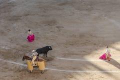 Ταυρομαχία Bullfigt στη Μαδρίτη Στοκ εικόνα με δικαίωμα ελεύθερης χρήσης