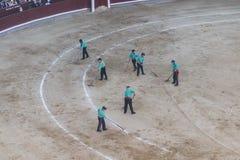 Ταυρομαχία Bullfigt στη Μαδρίτη Στοκ Φωτογραφίες