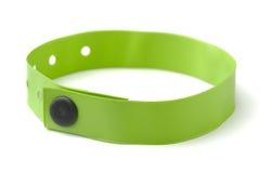 Ταυτότητα wristband Στοκ Φωτογραφίες