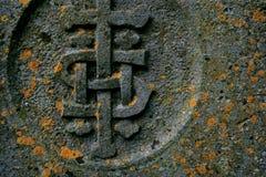 ταφόπετρα λεπτομέρειας Στοκ φωτογραφία με δικαίωμα ελεύθερης χρήσης